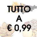 Alimentari: tutto a €0,99