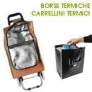 Carrellini e borse spesa termici