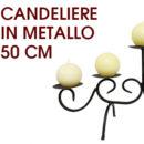 Candelabro 5 candele a sfera – €4,90