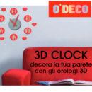 Orologi 3D – P. Tesserato € 3,95 e € 4,95